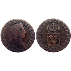 1721/0-BB [Strasbourg Mint] John Law Liard.