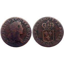 1721/0-BB [Strasbourg Mint] John Law Liard.