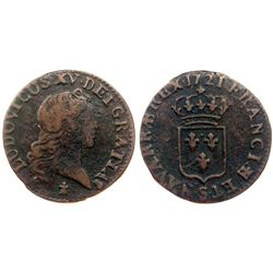 1721-S [Reims Mint] John Law Liard.