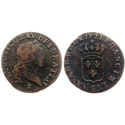 1721-S [Reims Mint] John Law Liard.