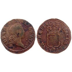 1721-CC [Besancon Mint] John Law Liard.