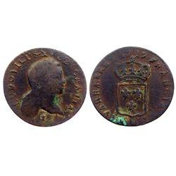 1719-AA [Metz Mint] John Law Half Sol.