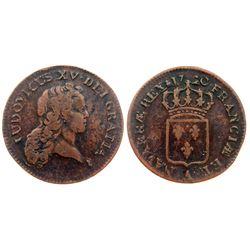 1720-A [Paris Mint] John Law Half Sol.