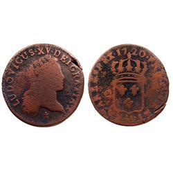 1720-AA [Metz Mint] John Law Half Sol.