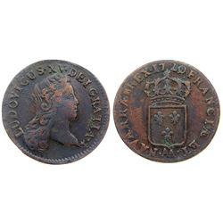 1720/19-AA [Metz Mint] John Law Half Sol.