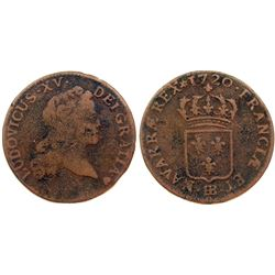 1720-BB [Strasbourg Mint] John Law Half Sol.