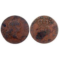 1721-A [Paris Mint] John Law Half Sol.
