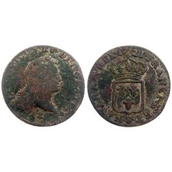 1721-S [Reims Mint] John Law Half Sol.