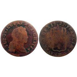 1722-H [La Rochelle Mint] John Law Half Sol.
