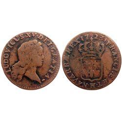 1723-H [La Rochelle Mint] John Law Half Sol.