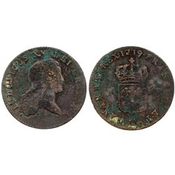1719-AA [Metz Mint] John Law Sol.