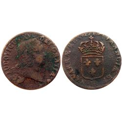 1719-BB [Strasbourg Mint] John Law Sol.