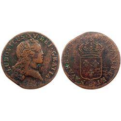 1720-B [Rouen Mint] John Law Sol.