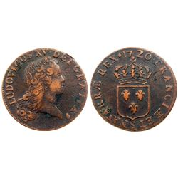 1720-S [Reims Mint] John Law Sol.