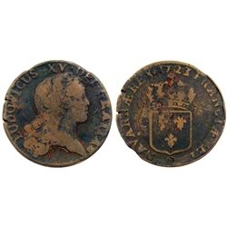 1723/2-Q [Perpignan Mint] John Law Sol.
