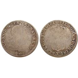 1721-Y [Bourges Mint] John Law 1/12 Silver Ecu, Gadoury 288.