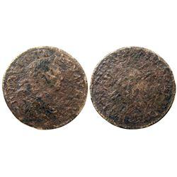 1724-H [La Rochelle Mint] Ecu aux 8 L's, Gadoury 320.