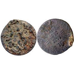 1725-H [La Rochelle Mint] Ecu aux 8 L's, Gadoury 320.