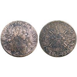 1725-I [Limoges Mint] Ecu aux 8 L's, Gadoury 320.