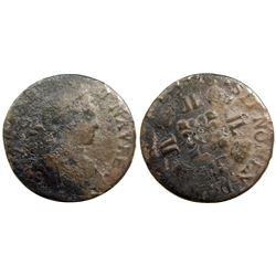 1725-H [La Rochelle Mint] Half Ecu Aux 8 L, Gadoury 312.