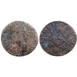 1725-AA [Metz Mint] Half Ecu Aux 8 L, Gadoury 312.