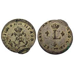 1739-A Billon Sous Marques.  Vlack 17.
