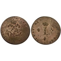 1763-A Billon Sous Marques.  Vlack 47b.