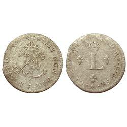 1738-C Billon Sous Marques.  Vlack 55.
