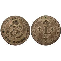 1747-C Billon Sous Marques.  Vlack 64.  Rarity-8.