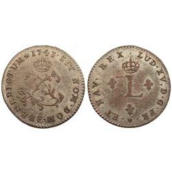 1741-E Billon Sous Marques.  Vlack 79.  Rarity-6.