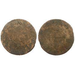 1740-G Billon Sous Marques.  Vlack 91.  Rarity-7.