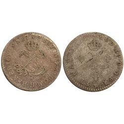 1739-H Billon Sous Marques.  Vlack 95.  Rarity-4.