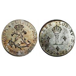 1742-H Billon Sous Marques.  Vlack 360.  Rarity-8.