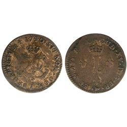1740-I Billon Sous Marques.  Vlack 116.  Rarity-6.