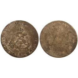 1739-L Billon Sous Marques.  Vlack 128.  Rarity-8.