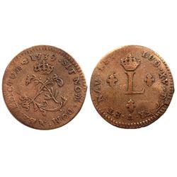 1739-N Billon Sous Marques.  Vlack 149 type.