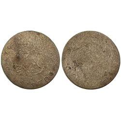 1740-S Billon Sous Marques.  Vlack 182.  Rarity-8.
