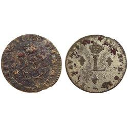 1740-W Billon Sous Marques.  Vlack 201.  Rarity-3.
