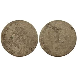 1741-W Billon Sous Marques.  Vlack 202.  Rarity-7.