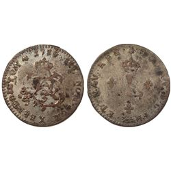 1739-X Billon Sous Marques.  Vlack 214.  Rarity-5.