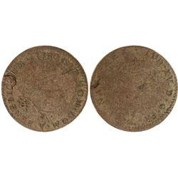 1740-Y Billon Sous Marques.  Vlack 219.  Rarity-8.