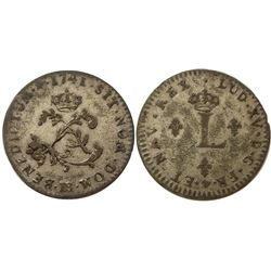 1741-BB Billon Sous Marques.  Vlack 252.  Rarity-7.