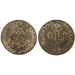 1741/39-BB Billon Sous Marques.  Vlack 252b.  Rarity-4.