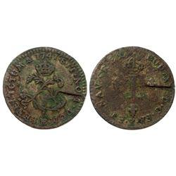 1741-BB Billon Sous Marques.  Vlack 253b.  Rarity-6.