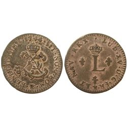 1744/3-BB Billon Sous Marques.  Vlack 257c.  Rarity-8.