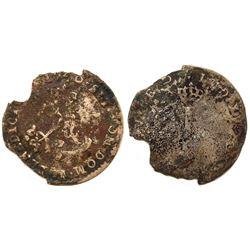 1740-Cow Billon Sous Marques.  Vlack 283.  Rarity-8.