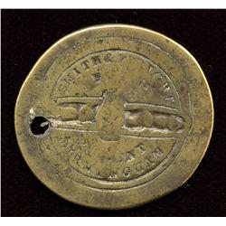 Fenian Raid Button
