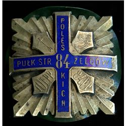 Poland WW1 Officers Cap Badge