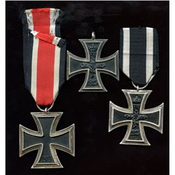Germany Second Class Iron Cross - Lot of 3