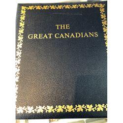 The Great Canadians Commemorative Medallion Set